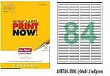 #10: Desmat A4 Size Paper Labels For Laser, Inkjet & Copiers (84 Label Sheet)(Pack Of 50 Sheets)