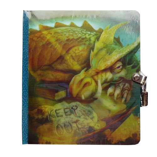 peaceable-kingdom-keep-out-dragon-picture-changing-cover-lock-and-key-diary
