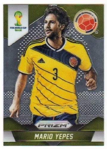 Panini Prizm World Cup Brazil 2014 Base Card # 50 Mario Yepes Colombia