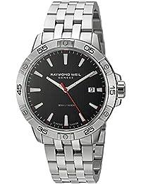 Raymond Weil Reloj de hombre cuarzo suizo 41mm correa de acero 8160-ST2-20001