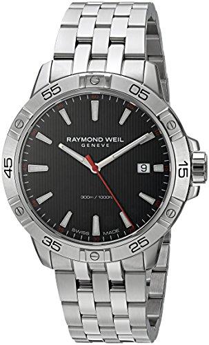 Raymond Weil Herren-Armbanduhr 41mm Schweizer Quarz 8160-ST2-20001 (Rw Weil Raymond)