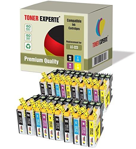 Preisvergleich Produktbild 20 XL TONER EXPERTE® LC223 Druckerpatronen kompatibel für Brother DCP-J4120DW, DCP-J562DW, MFC-J4420DW, MFC-J4425DW, MFC-J4620DW, MFC-J4625DW, MFC-J480DW, MFC-J5320DW, MFC-J5620DW, MFC-J5625DW, MFC-J5720DW, MFC-J680DW, MFC-J880DW