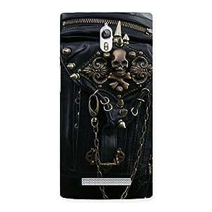 Impressive Zip Chain Back Case Cover for Oppo Find 7