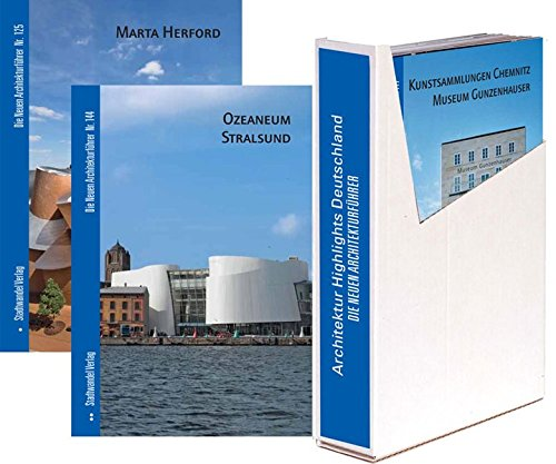 Architektur Highlights Deutschland: 12 Bände zu Architektur-Highlights deutschlandweit im Schuber