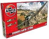 Airfix- Maquette-Junkers JU87 B-1 Stuka, A07114, Echelle 1/48