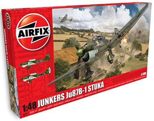 Airfix Kit de modelismo, avión Junkers Ju87B Stuka (Hornby A07114)