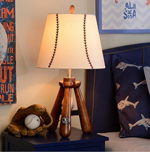 Traditionelle Baseball (SKC LIGHTING Europäische - Stil Kreative Warm Wohnzimmer Kinderzimmer Schlafzimmer Lampe Scheinwerfer Cute Baseball)
