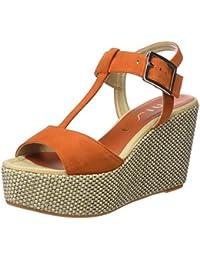 CFP - Zapatillas de danza de poliuretano para mujer Dorado dorado