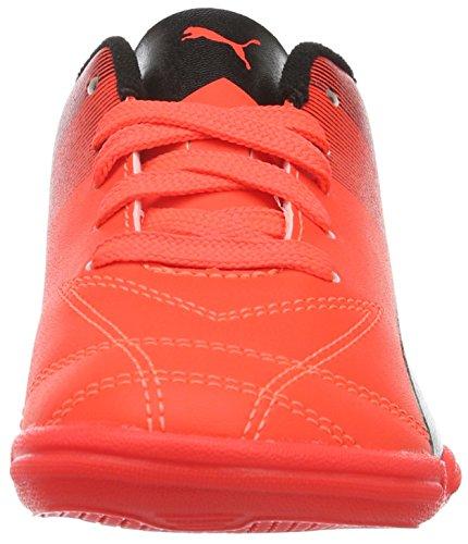 Puma Adreno Ii It Jr, Chaussures de Football Compétition Mixte Enfant Rouge - Rot (Red blast-puma white-puma Black 09)