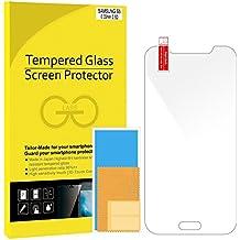 Galaxy S5 Protectores de pantalla, JETech Vidrio Templado Protector de Pantalla Empaquetado al por Menor para Samsung Galaxy S5 SV - 0830