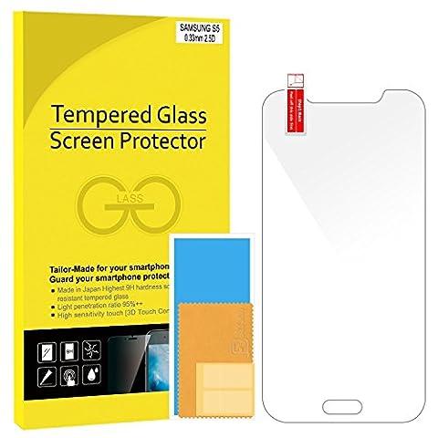 Telephone S5 Samsung - JETech Samsung S5 Film Protection en Verre