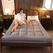JIAOHJ Plegable/Futón/Colchón, Suave/Almohadilla para Dormir, Japonés/Rollo