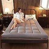 JIAOHJ Pliable/Futon/Matelas, Soft/Sleeping Pad, Japonais/Lit, Épais/Japonais/Étudiant Dortoir/Matelas, Épaississement/Matelas,A,120 * 200cm