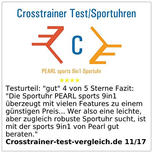 PEARL Sports 9in1 Stoppuhr - 6
