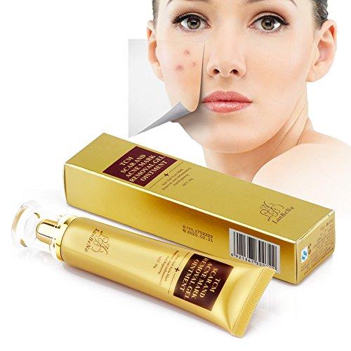 Narbencreme, Narbe Creme Narbe Gel Narbe Behandlung,Akne Narbe entfernen creme für Gesicht und Körper - Behandeln Sie neue und alte Narben - Aknenarben, Dehnungsstreifen und Narben