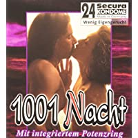 Orion 415286 Secura 1001 Nacht, 24 transparente Kondome mit integriertem Potenzring preisvergleich bei billige-tabletten.eu