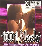 Orion 415286 Secura 1001 Nacht, 24 transparente Kondome mit integriertem Potenzring