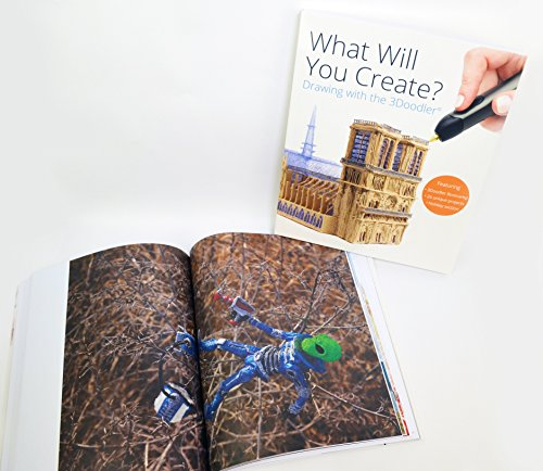 """3Doodler """"What Will You Create?"""" Project Book - 6"""