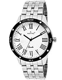 HASHTAG Analogue White Dial Men's Watch