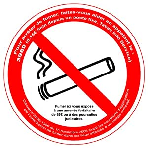 Viso DPP2 Panneau Interdiction de Fumer