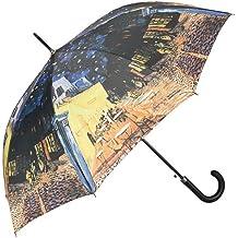 VON LILIENFELD Paraguas Automática Mujer Motivo Arte Vincent van Gogh: Café nocturno