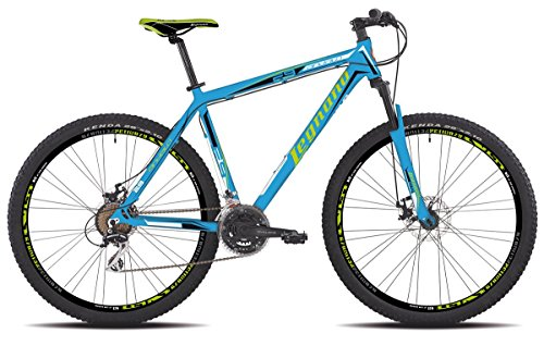 Legnano bicicletta 605 andalo 29' disco 21v taglia 44 blu (MTB Ammortizzate) / bicycle 605 andalo 29'' disc 21s size 44 blue (MTB Front suspension)