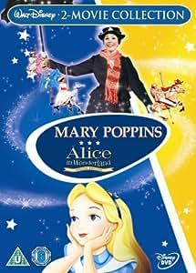 Mary Poppins Alice In Wonderland Dvd Amazon Co Uk