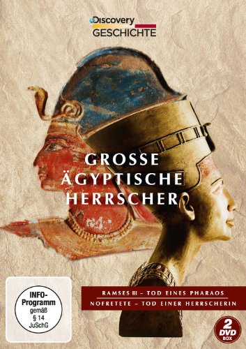 Große Ägyptische Herrscher: Nofretete / Ramses III [2 DVDs] (ägyptische Filme)