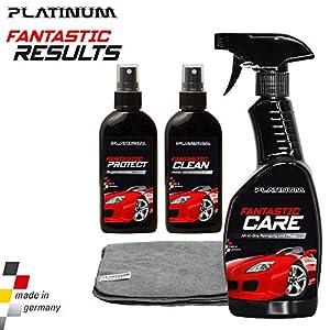 Platinum Fantastic Results - Autopflegeset inkl. Microfasertuch | Das Original aus dem TV von MediaShop