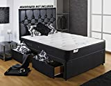 Backcare support divan bed with 2 drawers and memory mattress (Small Double)