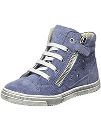 Lepi 2458LEQ Mädchen Hohe Sneakers