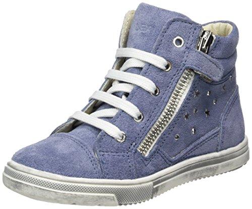 Lepi 2458leq, Baskets hautes fille Blau (2458 C.42 Indaco)