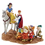 Enesco Enchanting Disney Un Gioioso Addio Biancaneve, Il Principe & i Sette Nani, 24 cm, Resina,, 21x21x24 cm