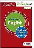 Cambridge Checkpoint English Revision Guide for the Cambridge Secondary 1 Test (Cambridge Checkpoints)