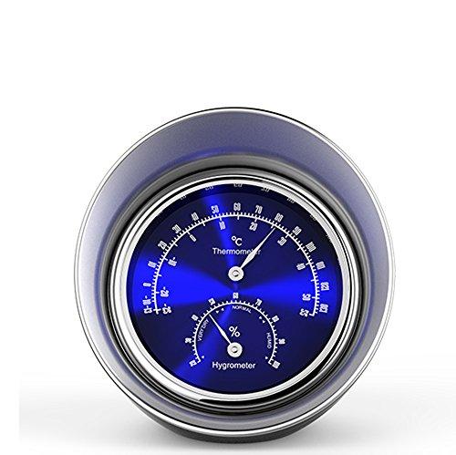 Preisvergleich Produktbild Autothermometer und -hygrometer Entlüfter Klassische Temperaturanzeige fürs Auto