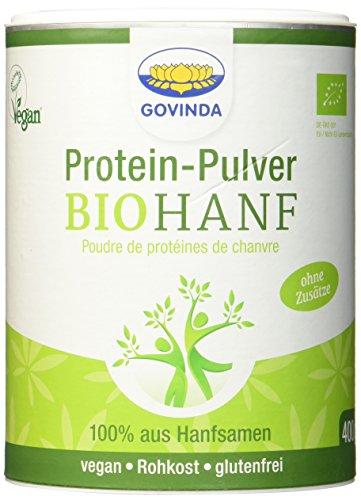 Govinda Hanfproteinpulver, 1er Pack (1 x 400 g) - Bio