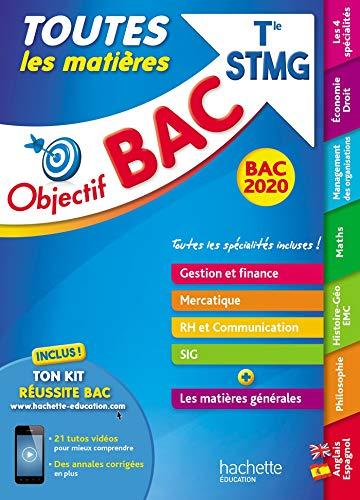 Objectif Bac 2020 Toutes les matières Term STMG
