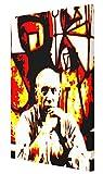 MAUSI CREATIONS Picasso Picasso Quadro Leinwanddruck, Stretched Canvas Print, Druck Auf KEILLENWAND, Nachdruck vom Original Gemälde