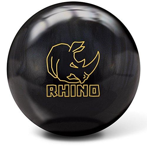Brunswick Bowlingball RHINO div Farben und Größen (Black Pearl, 10 Lbs)
