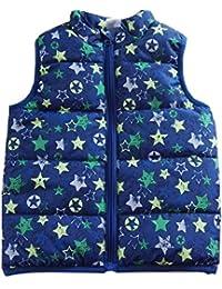 C.N. - Chaleco - chaqueta guateada - para bebé niño