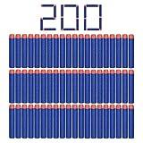 StillCool Nerf N-Strike 200pcs 7.2cm Espuma Suave Dardos Recarga Bala...