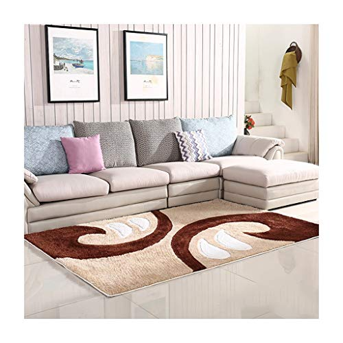 FOO Teppiche Rechteckiger Teppich Anti-Rutsch-, Kombinations-Muster-voller Teppich, dekoratives Schlafzimmer-Wohnzimmer-Kinderhaus-Stärke -25mm Teppich zeitgenössischer Wohn- und Schlafbereich T -