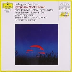 """Beethoven : Symphonie n° 9 en ré mineur op. 125 """"chorale"""" (""""Ode à la Joie"""")"""