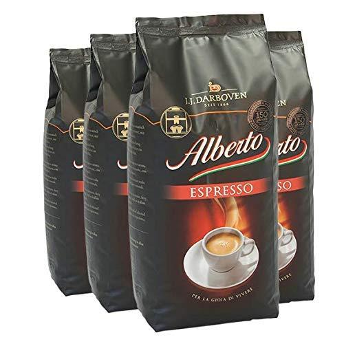 Alberto Espresso 4x1 kg ganze Bohnen
