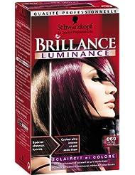 Couleur de cheveux violet prune