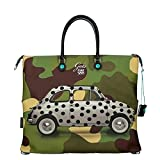 Gabs shopping bag convertible Fiat 500 white