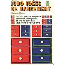 1000 idées de rangement