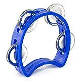 Tiger TAM7-BL Tambourin Miniature pour enfants - Bleu