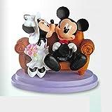 Floreal Cake Topper Disney–Mickey und Minnie Kuss auf Sofa