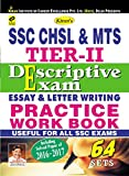 #9: Kiran's SSC CHSL and MTS Tier 2 Descriptive Exam Essay and Letter Writing Practice Work Book useful for all ssc exams including Solved Papers